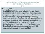 perkembangan teknologi komunikasi dan informasi di indonesia