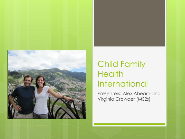 child family health international n.