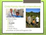 child family health international2