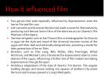 how it influenced film