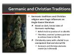 germanic and christian traditions