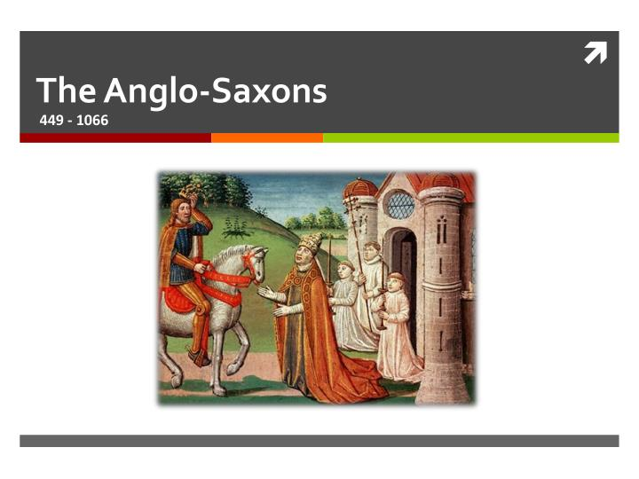 the anglo saxons n.