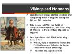 vikings and normans