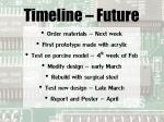 timeline future