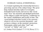 suzerain vassal conditional
