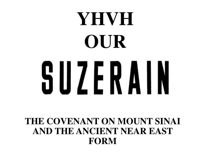 Yhvh our
