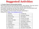 suggested activities1