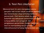 b teori pers libertarian
