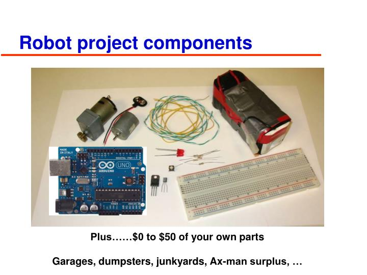 Robot project components