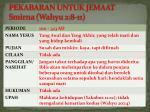 pekabaran untuk jemaat smirna wahyu 2 8 116