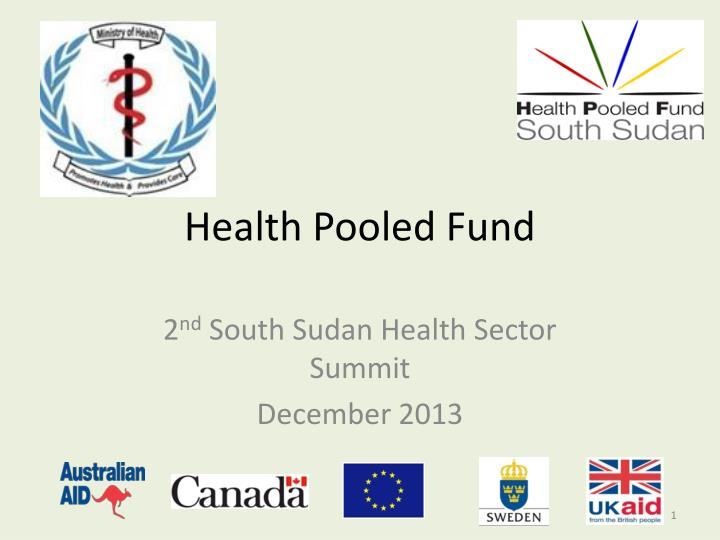 health pooled fund n.