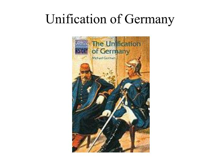 unification of germany n.