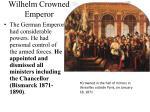 wilhelm crowned emperor