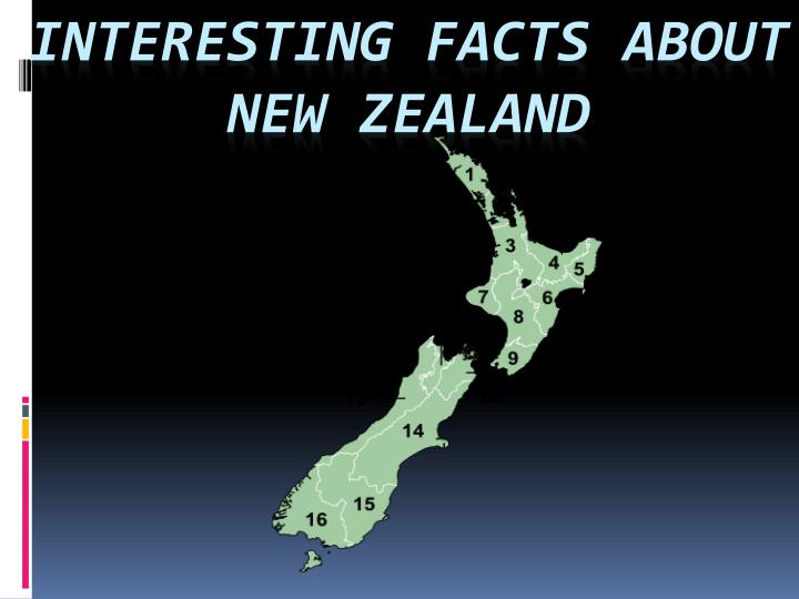 interesting facts about new zealand n.