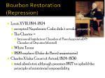 bourbon restoration repression
