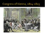 congress of vienna 1814 1815