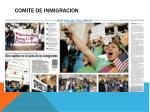 comite de inmigracion
