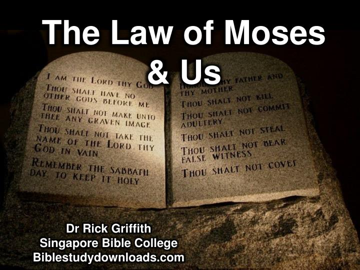 the law of moses us n.