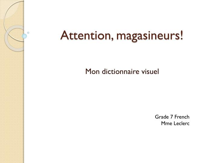attention magasineurs n.