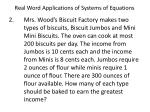 real word applications of systems of equations2
