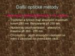 dal optick metody