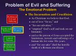 problem of evil and suffering the emotional problem5