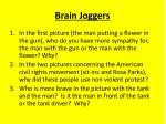 brain joggers