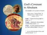 god s covenant to abraham1
