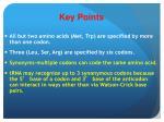 key points5