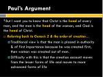 paul s argument1