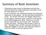 summary of book seventeen