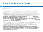 book xvi reader s guide6