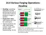 14 4 various forging operations heading