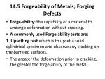 14 5 forgeability of metals forging defects