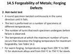 14 5 forgeability of metals forging defects1