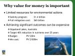 why value for money is important