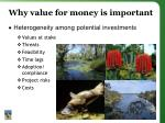 why value for money is important1
