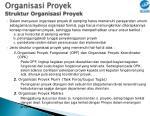 organisasi proyek struktur organisasi proyek