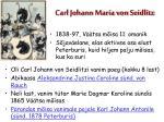 carl johann maria von seidlitz