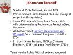 johann von baranoff