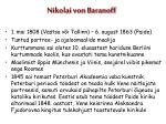 nikolai von baranoff