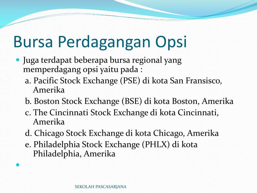 Buka Pilihan biner Kota Sibolga: Options Trading In Bse
