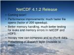 netcdf 4 1 2 release