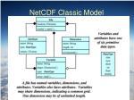 netcdf classic model1