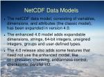 netcdf data models