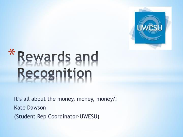 rewards and recognition n.