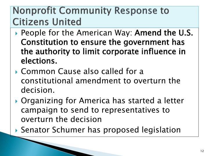 Nonprofit Community