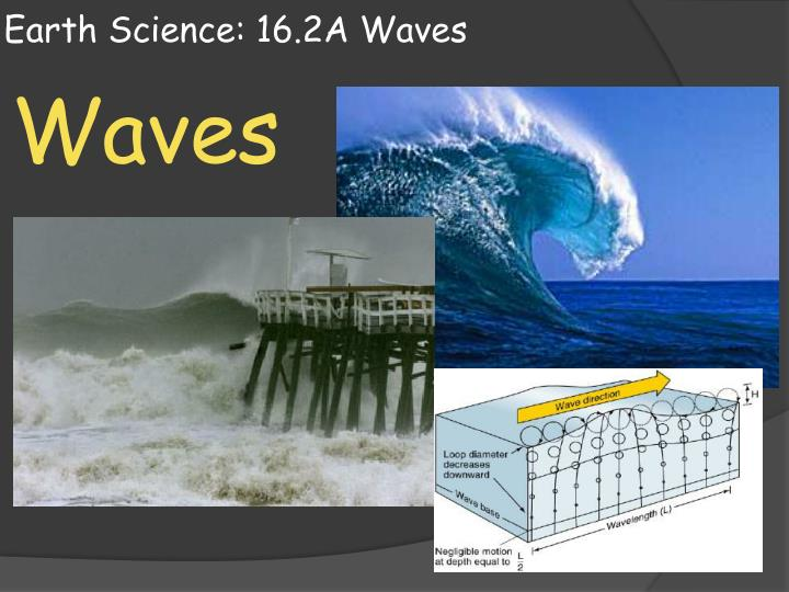 earth science 16 2a waves n.