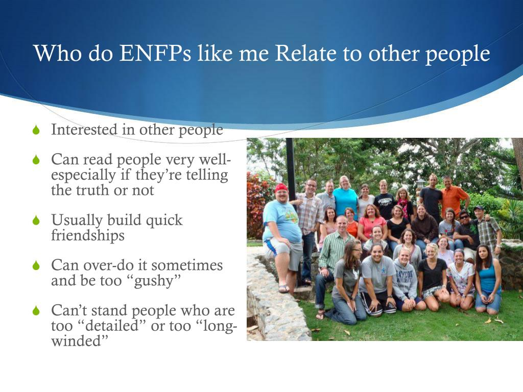 PPT - ENFP PowerPoint Presentation - ID:2080275