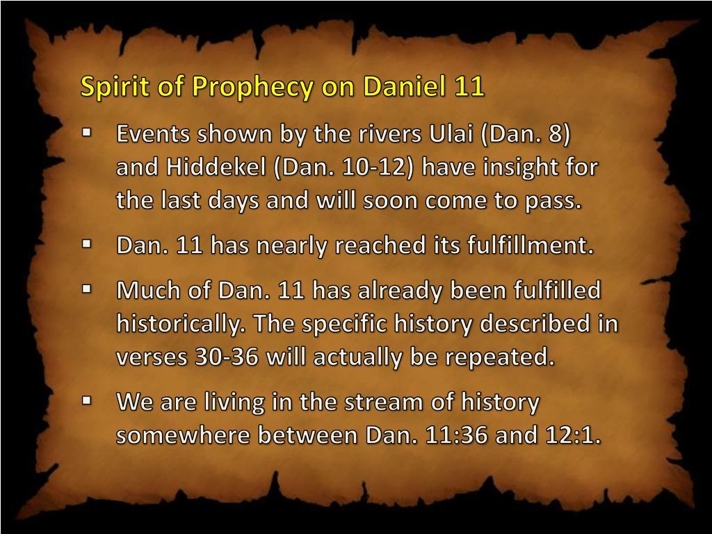 "PPT - STUDIES IN DANIEL 11 ""Daniel 11 – A Basic Overview"